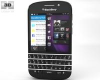 BlackBerry Q10 3D Model