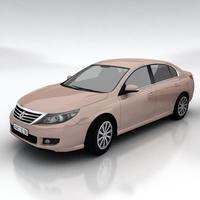 Renault Latitude 3D Model