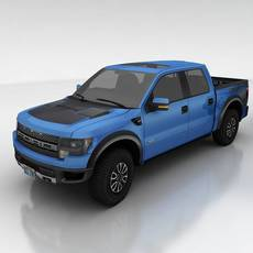 Ford F150 SVT Raptor 3D Model
