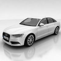 Audi A6 hybrid 3D Model