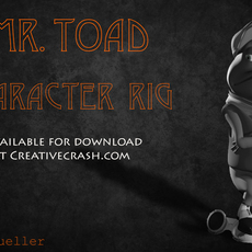 Mr. Toad Maya Character Rig 3D Model