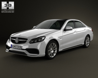 Mercedes-Benz E-Class 63 AMG 2014 3D Model