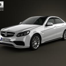 Mercedes-Benz E-Class 63 AMG 2014 3D Model