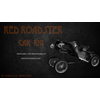 Vintage Red Roadster 3D Model