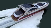luxury yacht 1 3D Model