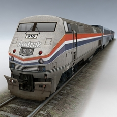Amtrak 3D Model
