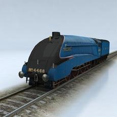 LNER Class A4 Mallard 3D Model