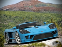 Saleen S7 std mat 3D Model