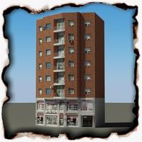Building 77 3D Model
