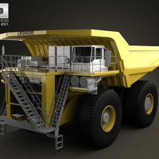 Liebherr T 282B Dump Truck 2012 3D Model