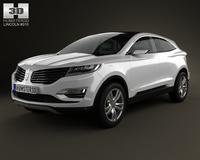 Lincoln MKC 2013 3D Model