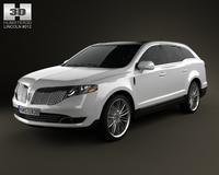 Lincoln MKT 2013 3D Model