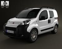 Fiat Fiorino Combi 2011 3D Model