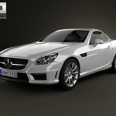 Mercedes-Benz SLK-class 55 AMG 2012 3D Model