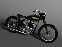 Triumph 6T 1949 3D Model
