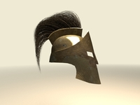 Greek Helmet 3D Model