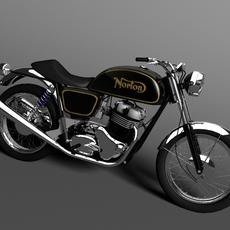 Norton 850 Commando 3D Model