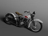 Harley-Davidson VL 1934 3D Model
