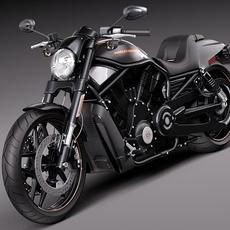 Harley-Davidson V-rod Night Rod Special 2013 3D Model