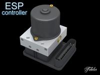 ESP controller 3D Model