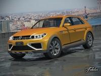 Volkswagen Crossblue coupè 3D Model