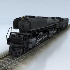 Challenger Union Pacific 3D Model