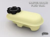 Master brake fluid tank 3D Model