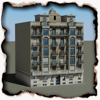 Building 83 3D Model