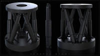 Free Hexapod 3D Model