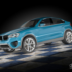 BMW X4 concept 3D Model