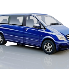 Mercedes Benz Viano 2010 3D Model