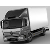 Mercedes Atego 2014 short 3D Model