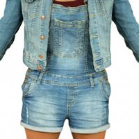 Jeans Girl Standard Pose 3D Model