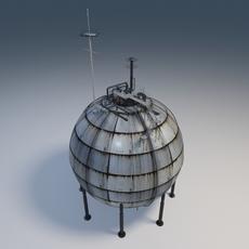 Gas Tank 3D Model