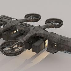 Cargo Transport 3D Model