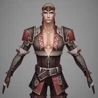 Fantasy Man Prince Willi 3D Model