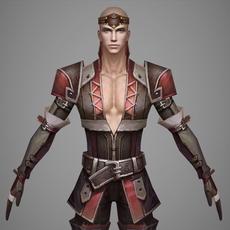 Fantasy Man Prince Willi 3D Model