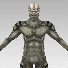 Fantasy Humanoid 3D Model