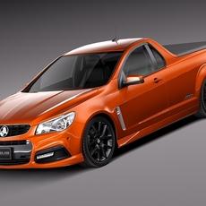 Holden VF Commodore UTE SSV 2014 3D Model