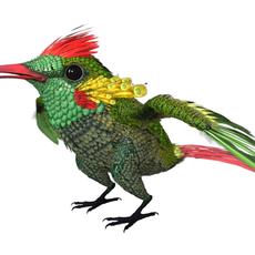 HummingBird 03_3ds max 2010 3D Model
