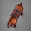 09 19 08 305 lowpoly medieval horse 09 4