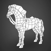 09 19 08 468 lowpoly medieval horse 10 4