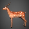 09 19 17 797 low poly deer 03 4