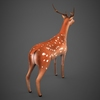09 19 18 539 low poly deer 05 4