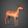 09 19 18 759 low poly deer 06 4