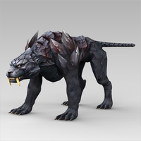 Fantasy Animal Nishachar 3D Model