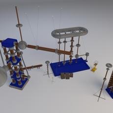 High voltage equipment 3D Model