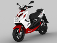 Yamaha AeroX R 2013 3D Model
