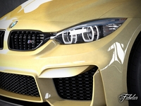 BMW M4 coupè concept 3D Model