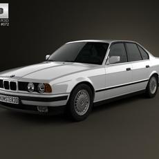 BMW 5 Series sedan (E34) 1993 3D Model